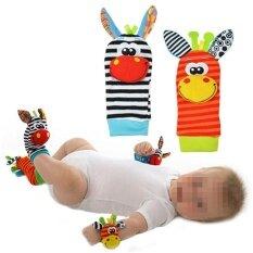 4 ชิ้นใหม่ทารกของเล่นเด็กอ่อนของเล่น Rattles มือเท้า Finders พัฒนาการ (2 สไตล์ที่แตกต่างกันการจัดส่งแบบสุ่ม) โดย Lanlan - นานาชาติ.
