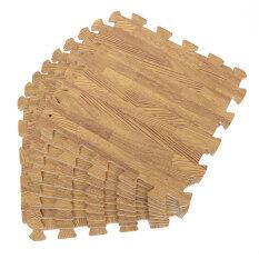45ชิ้นไม้ประสาน Eva พื้นโรงยิมเบาะโฟมงานเด็กปริศนาเสื่อพรมตู้เล่น.