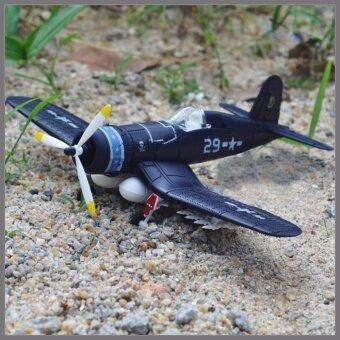 4D MODEL PLANE โมเดลเครื่องบินรบ รุ่น F4U แบบ F