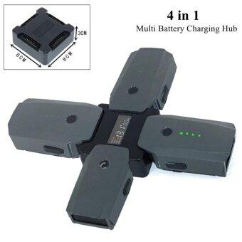 4in1 Intelligent Multi Battery Charger Screen Display Charging Hub For DJI MAVIC - intl