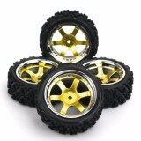 ขาย 4Pcs Set Rc Rally Racing Off Road 1 10 Rubber Tires Wheel Rims Pp0040 Pp0487 Intl M A K ถูก