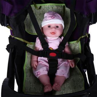 สายรัด 5 จุดปรับความปลอดภัยของเด็กทารกสายคล้องรถเข็นเด็กเข็มขัดนิรภัย-นานาชาติ-