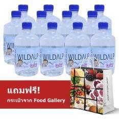 ขาย Wildalp Natural Spring Water ไวด์แอล์ป น้ำแร่บริสุทธิ์จากธรรมชาติ สำหรับเด็ก ปริมาณสุทธิ 500 มล X 12 ขวด กรุงเทพมหานคร