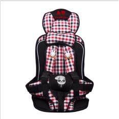 เบาะนั่งนิรภัยสำหรับเด็ก แบบพกพา ใช้กับอายุ 9 เดือน - 6 ปี น้ำหนักไม่เกิน 25 กิโลกรัม