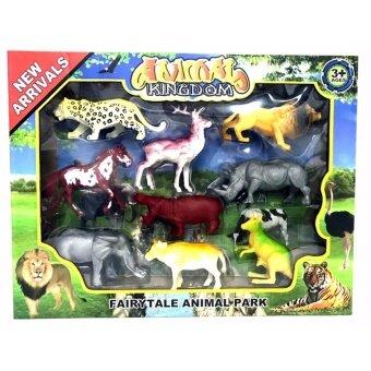 โมเดล รวมสัตว์ป่า 9 ตัว