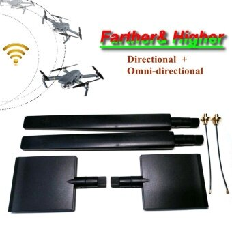 9000M 2.4G/5.8G Antenna WiFi Signal Booster Range Extender For DJI Mavic Pro - intl