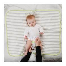 ซื้อ เบาะรองนอนสำหรับทารก เทา ขาว ขนาด 90X70 ซม Unbranded Generic