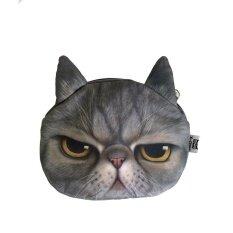 ซื้อ 9Sabuy กระเป๋าแมว 3D แมว หน้ามุ่ย รุ่น Bcs002 สีดำลายเทา 9Sabuy ออนไลน์
