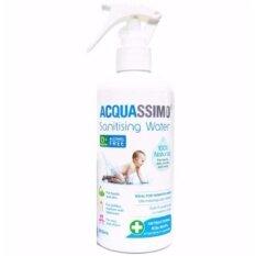 ราคา Acquassimo สเปรย์น้ำฆ่าเชื้อโรค ขนาด 300 Ml สำหรับเด็กอ่อน