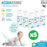 ราคา Acquassimo Sanitising Water 300 Ml สเปรย์น้ำฆ่าเชื้อทำความสะอาดสำหรับทารก ของเกาหลี แท้ 100 จำนวน 5 ขวด Acquassimo เป็นต้นฉบับ