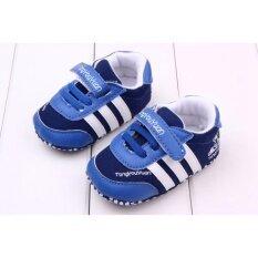 ราคา รองเท้าเด็ก รองเท้าเด็กแรกเกิด ลายผ้าใบAdidas เป็นต้นฉบับ Unbranded Generic