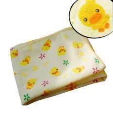 โปรโมชั่น แผ่นรองนอนกันน้ำ รองฉี่กันเปื้อนที่นอน ลายเป็ดน้อยขนาด 60 70 Cm Achute ใหม่ล่าสุด