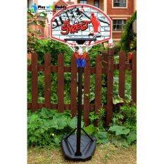 แป้นบาสเด็ก แป้นบาสตั้งพื้นสำหรับเด็ก Kidz-03 (basketball Hoop) By Dream Sport