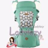 ราคา Ladylazyเป้อุ้มเด็ก Aiebao Hip Seat 2In1 มีหมวกคลุมและปลอกกันน้ำลาย พาสเทล สีเขียว Aiebao ใหม่
