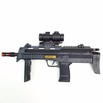 AK-828 Gun With Action Light And Sound ปืนเด็กเล่น มีไฟ มีเสียง ปืนของเล่น ปืนกล