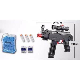 ปืนยิงกระสุนน้ำ + กระสุนโฟม AK46 2 in 1 function
