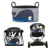 ราคา All Goods Shop ที่ใส่ของอเนกประสงค์สำหรับรถเข็นเด็ก ที่แขวนอเนกประสงค์ ที่เก็บของ ถุงเก็บของบนรถเข็นเด็ก รูปปลาวาฬ Baby Strollers Accessories Baby Carriage Bags Whale
