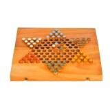 ราคา Ama Wood ของเล่นไม้ดาว 10 Folding Chinese Checkers แบบพับได้ ใน กรุงเทพมหานคร