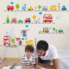 ขาย Animals Cars Bus Wall Sticker Removable Baby Room Vinyl Mural Decor Intl ถูก ใน จีน