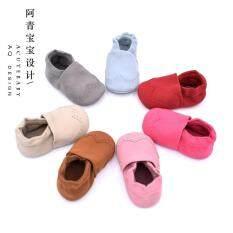 ขาย Aqing ทารก Nubuck หนังใหม่รองเท้าเด็กวัยหัดเดินทารกรองเท้า ถูก