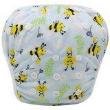 ขาย Asenappy Reuseable Washable Baby Cloth Swim Diapers Bees ราคาถูกที่สุด