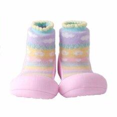 โปรโมชั่น Attipas รองเท้าหัดเดิน Attibebe Pink Size M ใน Thailand