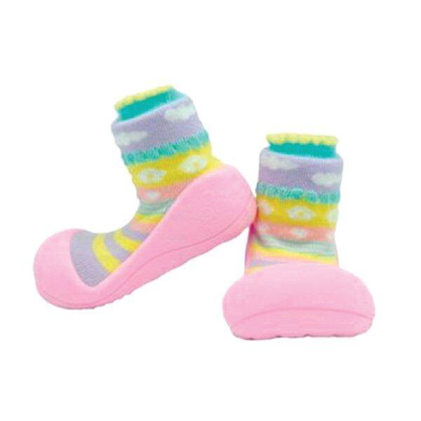ราคา Attipas รองเท้าหัดเดิน รุ่น Attibebe-Pink-AAB01-Pink/M