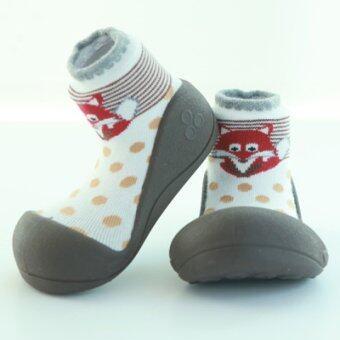Attipas รองเท้าหัดเดิน รุ่น Zoo สี Brown Size M