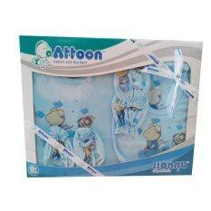โปรโมชั่น Attoon ชุดของขวัญ เสื้อผ้าเด็กแรกเกิด สีฟ้า Attoon