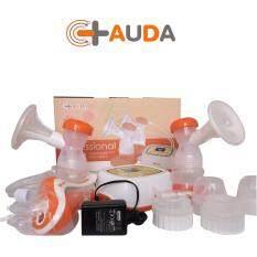 ส่วนลด Auda เครื่องปั๊มนม แบบปั๊มคู่ รุ่น 2 มอเตอร์ปั๊ม แยกควบคุม R L D รุ่น Auda 8798 สีส้ม กรุงเทพมหานคร