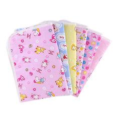 ทารกที่นอนปัสสาวะที่นอนผ้าอ้อมเด็กทารกที่สามารถนำกลับมาใช้ใหม่สำหรับทารกแรกเกิด (สีสุ่ม) - นานาชาติ.
