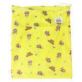Baboon Baby กระเป๋ากันน้ำเก็บกลิ่น 2 ช่อง สำหรับพกพากางเกงผ้าอ้อมและแผ่นซับ Pepo Yellow ใน ไทย