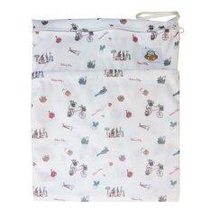 ขาย Baboon Baby กระเป๋ากันน้ำเก็บกลิ่น 2 ช่องซิป สำหรับพกพากางเกงผ้าอ้อมและแผ่นซับ Eco Bum White ราคาถูกที่สุด