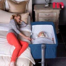 Fin Babiesplus เตียงนอนสำหรับเด็ก Baby Adjustable Mini Bed รุ่น Car-Ap802 By Papa Baby.