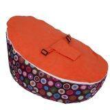 Baby Bean Bag Base Snuggle Bags Infant Sleeping Bed Seating Without Filling Circle Orange Intl เป็นต้นฉบับ