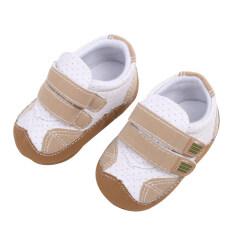 ราคา รองเท้าเด็กอ่อนเด็กพื้นรองเท้า กากี Intl เป็นต้นฉบับ