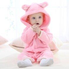 ขาย เสื้อผ้าเด็กทารก Rompers Carter ขนแกะปะการังฤดูใบไม้ผลิฤดูใบไม้ร่วงสัตว์ Jumpsuit ทารกแรกเกิดทารกเด็กสาว Rompers เสื้อผ้าเด็กทารกหมี นานาชาติ ถูก ใน จีน