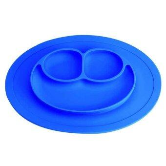 Baby Cute Silicone Plate Silicone Mats Children's Mats Easy to Clean Silicone Pad Infant Food Box - intl