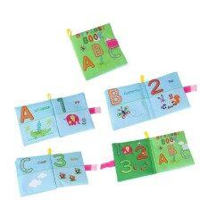 การศึกษาช่วงต้นของทารกหนังสือนุ่มทนทาน 3d Squeak หนังสือเสียงของเล่นปริศนาของขวัญสำหรับ Boy & Girl สี: ตัวอักษรรุ่น.