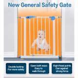 โปรโมชั่น รั้วกั้น Baby Gate ขนาด 75 85Cm แถมเหล็กตัวยู 2 ชิ้นสำหรับใช้กับบันไดแบบขาเล็ก Arika ใหม่ล่าสุด