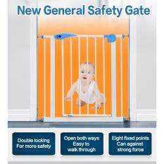 ซื้อ รั้วกั้น Baby Gate ขนาด 75 85Cm แถมเหล็กตัวยู 2 ชิ้นสำหรับใช้กับบันไดแบบขาเล็ก Arika ถูก