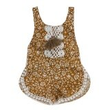 ราคา Baby Girls Glitter Sequins Sleeveless Rompers Jumpsuit Intl ใหม่ล่าสุด