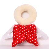 ขาย ซื้อ Baby Head Protection Pad Toddler Headrest Pillow Baby Neck Cute Wings Nursing Drop Resistance Cushion(Red)