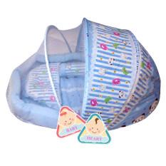 ขาย Baby Heart ชุดที่นอนมุ้ง จัมโบ้รุ่น 2 In 1 พร้อมหมอนและ หมอนข้าง แพนด้าสีฟ้า Baby Heart