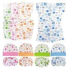 ขาย ซื้อ Baby Heart ชุดเด็กอ่อนแรกเกิด หมวก ถุงมือ ถุงเท้า เนื้อนุ่มพิเศษ แพ็ค 4 Set Ff 1 ใน ไทย