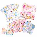 ขาย Baby Heart ชุดเสื้อเด็กอ่อนแรกเกิด แบบผูกหน้า แพ็ค 6 ตัว Baby Heart ถูก
