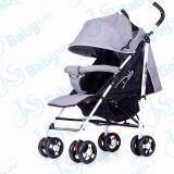 ราคา Baby Life รถเข็นเด็กแบบใหม่ท่ออลูมิเนียม: น้ำหนักเบา3 9 กิโลกรัม สามารถนั่งและนอน ขนาดใหญ่ Baby Stroller 3 36เดือน รุ่น:dm 988