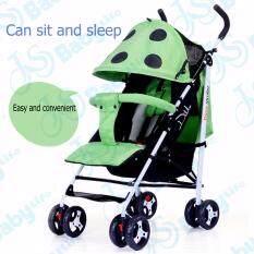 ราคา Baby Life รถเข็นเด็กแบบใหม่ท่ออลูมิเนียม: น้ำหนักเบา3 9 กิโลกรัม สามารถนั่งและนอน ขนาดใหญ่ Baby Stroller 3 36เดือน รุ่น:dm 2168 ออนไลน์ กรุงเทพมหานคร