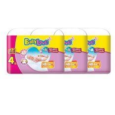 ขาย ขายยกลัง Baby Love ผ้าอ้อมเด็ก Easy Tape ไซส์ Nb 3 แพ็ค 84 4 ชิ้น ทั้งหมด 264 ชิ้น ผู้ค้าส่ง
