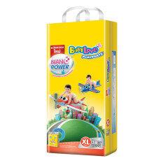 ราคา Baby Love กางเกงผ้าอ้อม ไซส์ Xl Play Pant Nano ขนาด 1 แพ็ค 38 ชิ้น ใน Thailand